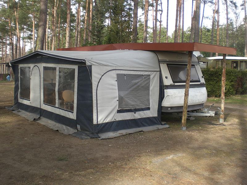 camping am langhagener waldsee region der. Black Bedroom Furniture Sets. Home Design Ideas